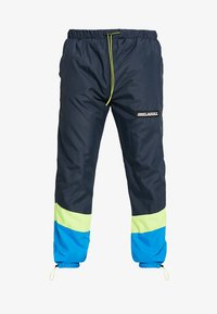 Night Addict - NARUSS - Tracksuit bottoms - navy/neon yellow - 3