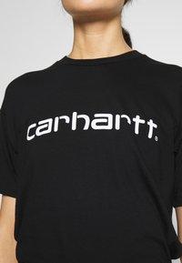 Carhartt WIP - SCRIPT - T-shirt imprimé - black/white - 4