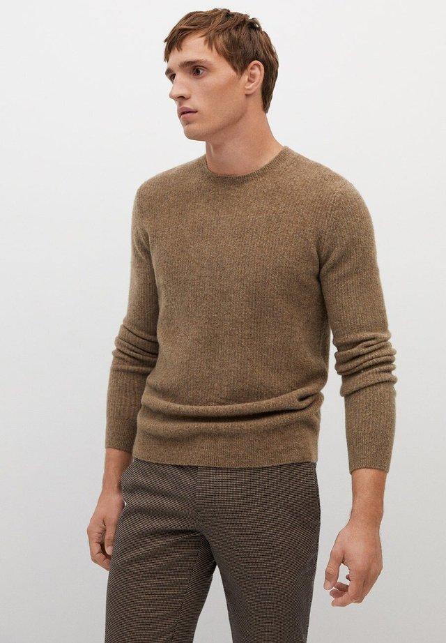 Sweatshirt - mittelbraun