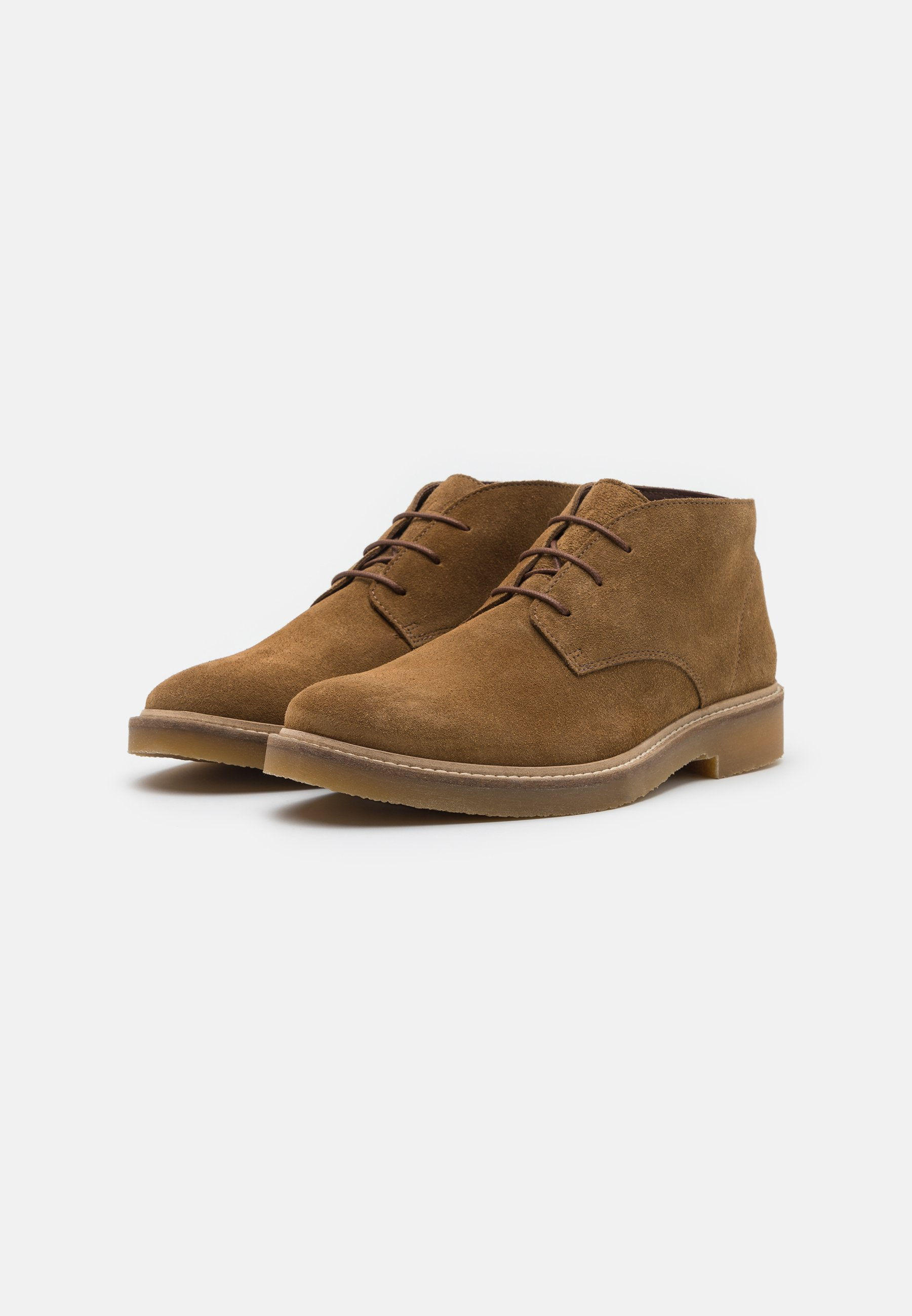 Homme SLHLUKE CHUKKA BOOT - Chaussures à lacets