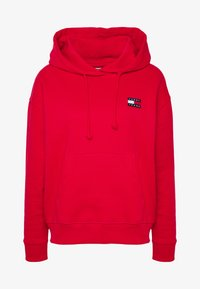 Tommy Jeans - BADGE HOODIE - Sweat à capuche - deep crimson - 4