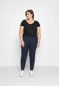 Dorothy Perkins Curve - Tracksuit bottoms - navy - 1