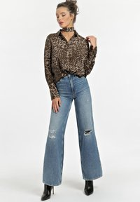 Guess - Button-down blouse - animalier - 1