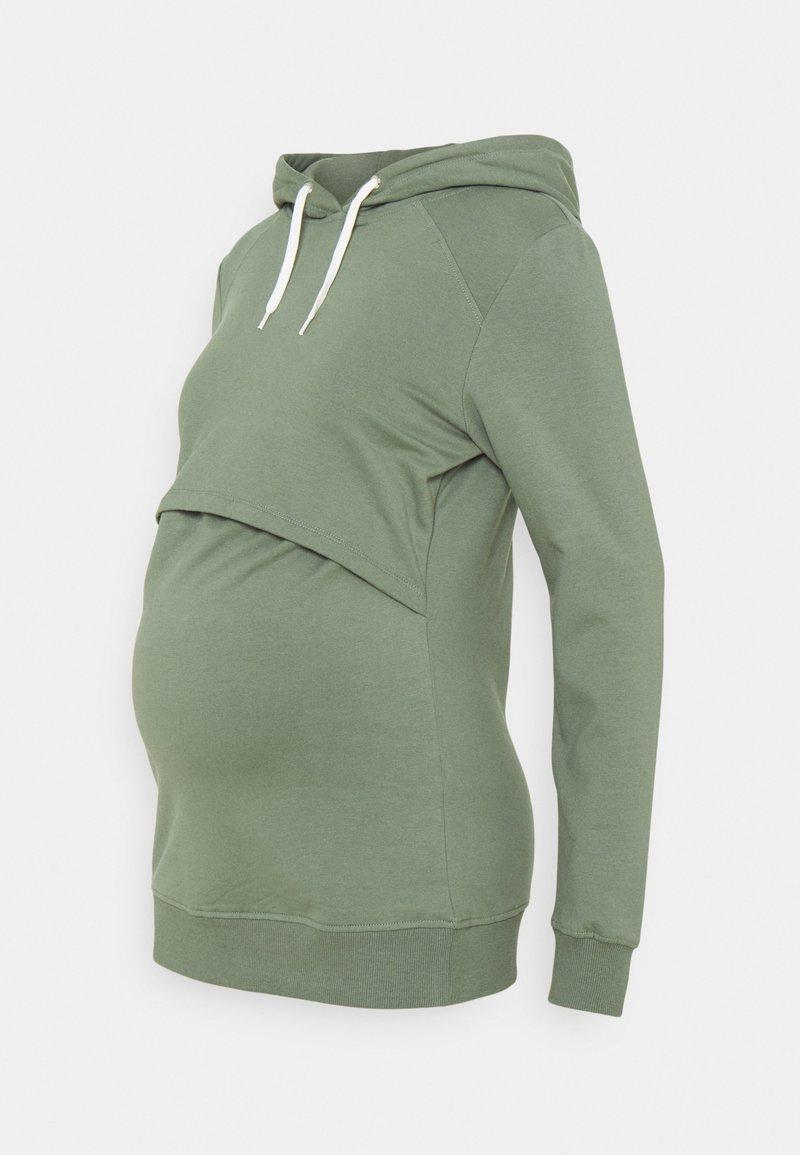 Anna Field MAMA - NURSING - Sweatshirt - Hoodie - green
