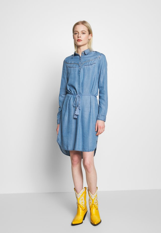 BARTH - Vestido vaquero - light blue