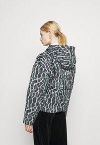Nike Sportswear - Winter jacket - smoke grey/black/white - 2