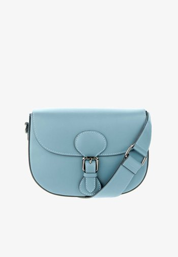 GARULLA - Across body bag - niebieski