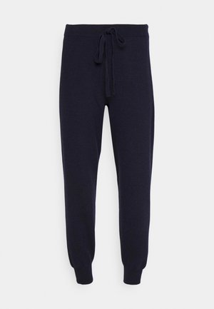 SCAPPATO - Tracksuit bottoms - midnight blue