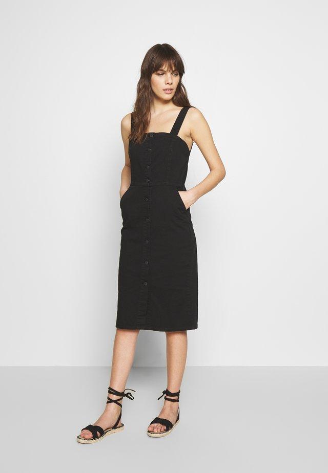 LARSA - Pouzdrové šaty - black wash