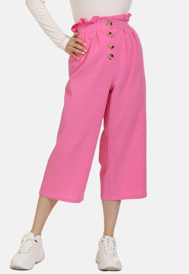 Spodnie materiałowe - pink