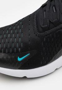 Nike Sportswear - AIR MAX 270 - Sneakers laag - black/light blue fury/dark smoke grey/white - 5