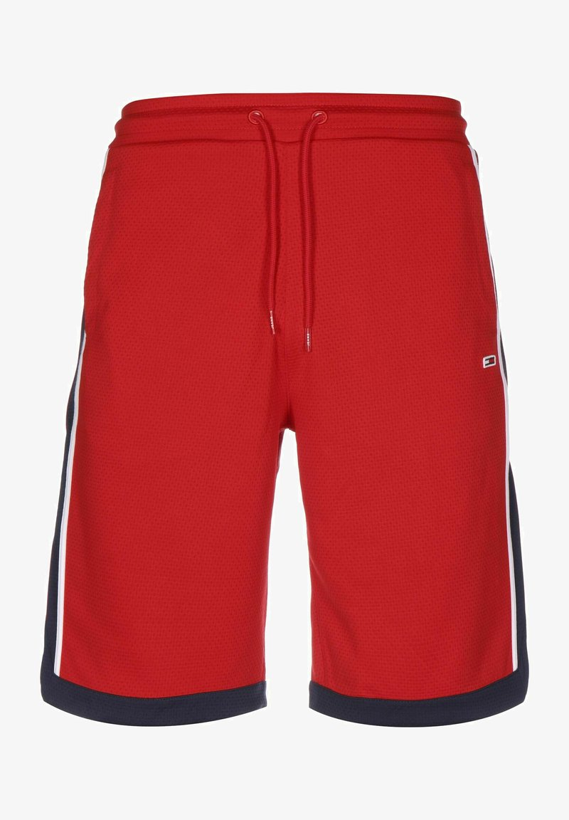 Tommy Jeans - BASKETBALL - Tracksuit bottoms - deep crimson