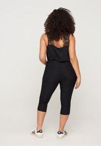 Zizzi - SLIM FIT - Trousers - black - 1