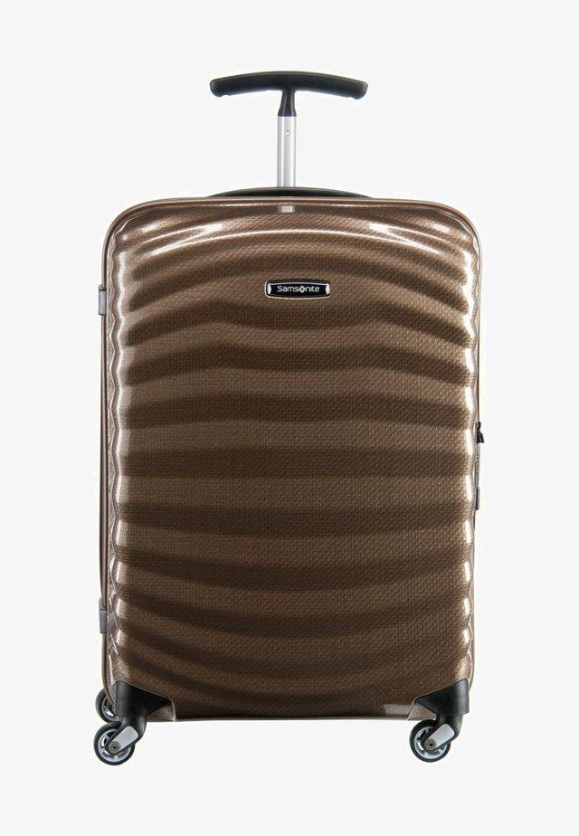 LITE-SHOCK (55 cm) - Wheeled suitcase - sand