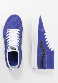 Vans - SK8 MID UNISEX - High-top trainers - royal blue/true white - 1