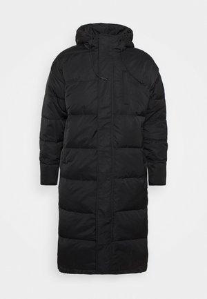 MAXI PUFFER - Down coat - true black