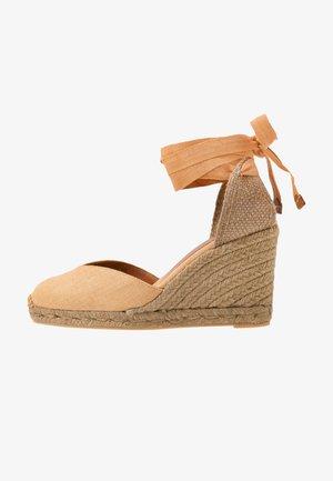 CHIARA - High heeled sandals - camel