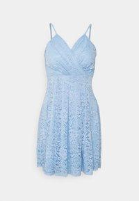WAL G. - EMMA SKATER DRESS - Koktejlové šaty/ šaty na párty - cornflour blue - 3