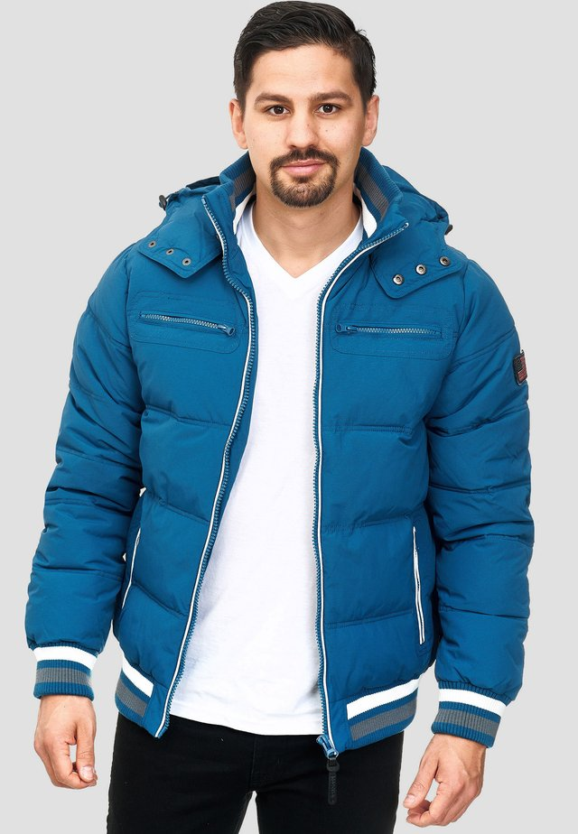 MARLON - Winterjacke - sea blue