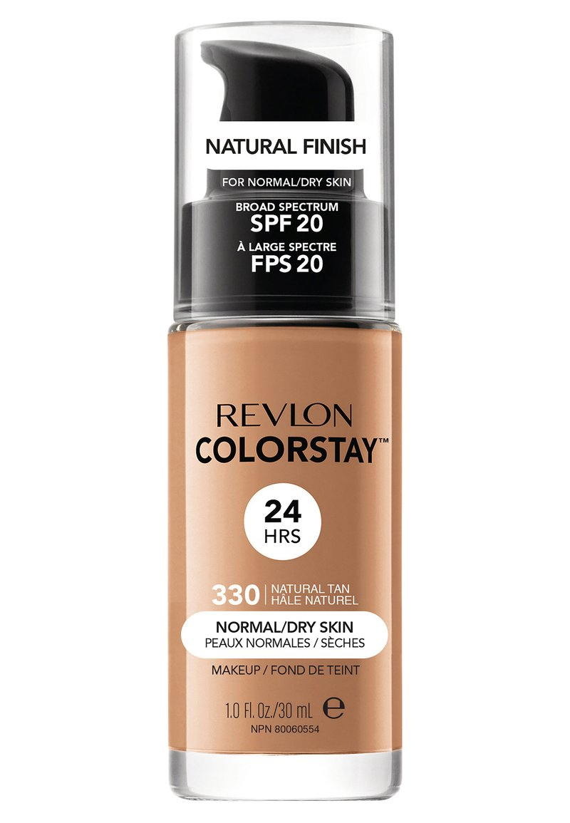 Revlon - COLORSTAY FOUNDATION FOR NORMAL TO DRY SKIN - Foundation - N°330 natural tan