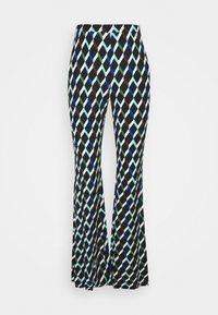 Diane von Furstenberg - BROOKLYN PANTS - Trousers - black - 3