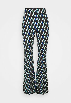 BROOKLYN PANTS - Trousers - black