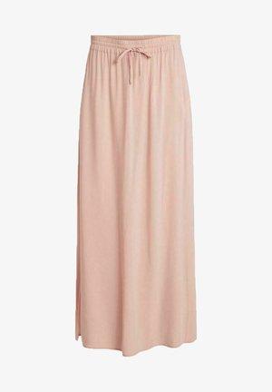 Maxi skirt - misty rose