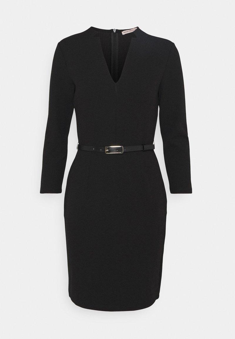 Anna Field Petite - Pouzdrové šaty - black