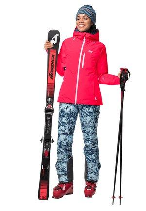 Ski jacket - flashing pink
