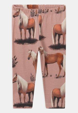 BEAUTY HORSES - Leggings - Trousers - pink