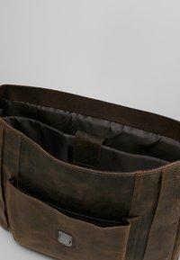 Strellson - HUNTER BRIEFBAG - Laptop bag - dark brown - 4