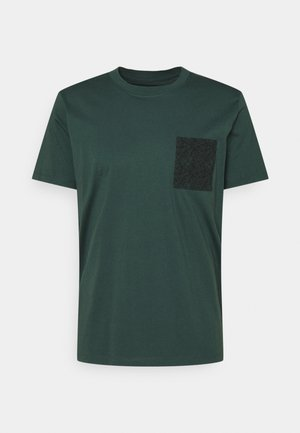 T-shirt con stampa - teal blue