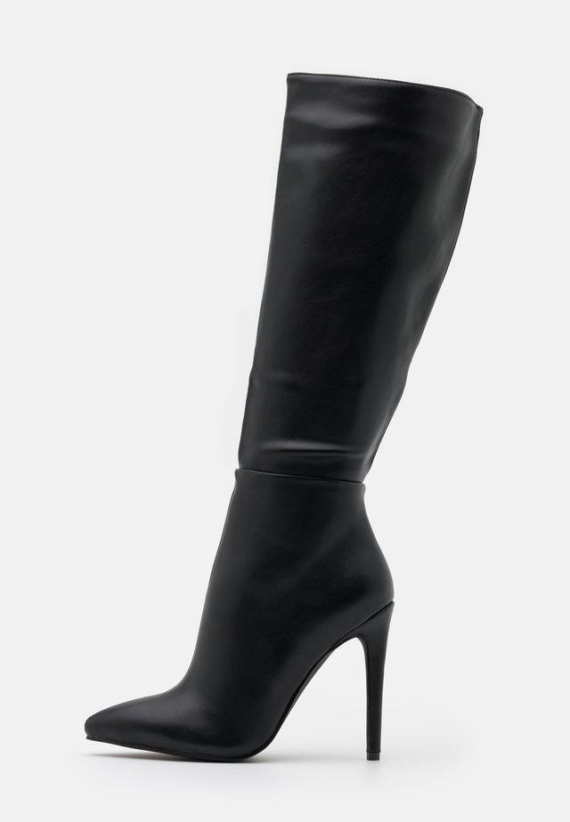 LAVERNE - High heeled boots - black