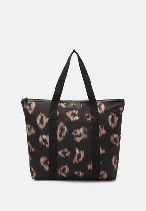 GWENETH IKAT BAG - Across body bag - black