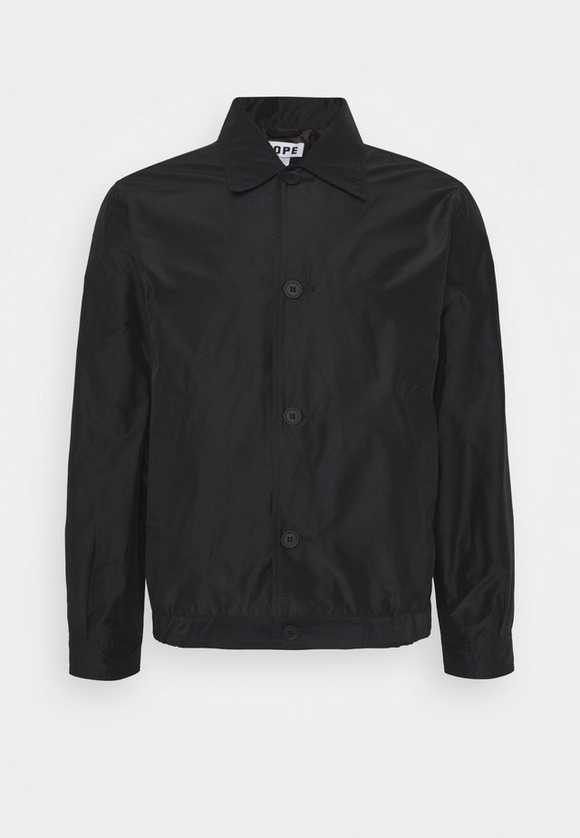 TOP JACKET - Giacca leggera - black
