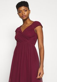 Nly by Nelly - CAP SLEEVE MAXI GOWN - Occasion wear - burgundy - 3