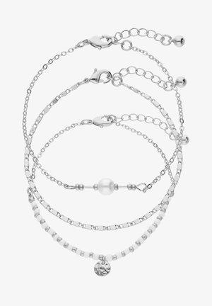 3-PACK - Bracelet - silver