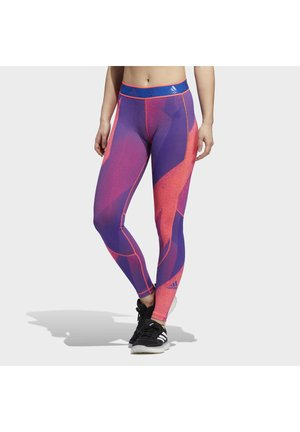 ALPHASKIN GRAPHIC LONG LEGGINGS - Collants - pink