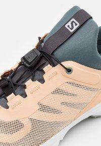 Salomon - AMPHIB BOLD 2  - Hiking shoes - almond cream/stormy weather/slate - 5
