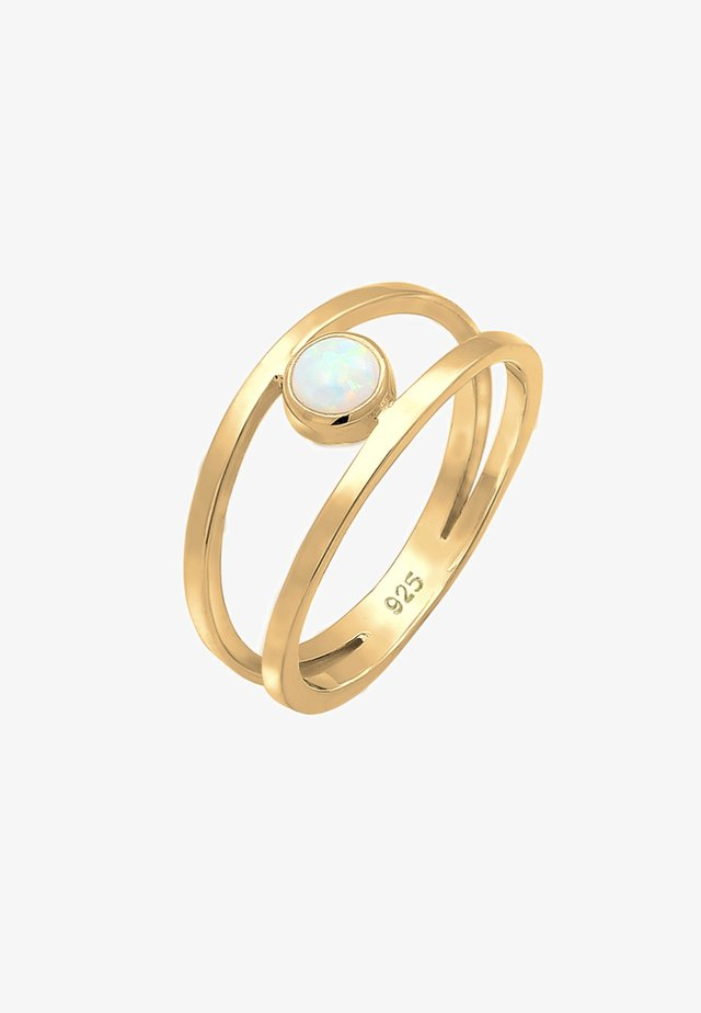 Ring - gold coloured