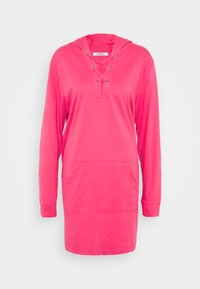 CAPSULE by Simply Be - EYELET DRESS - Day dress - bright pink - 0