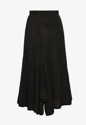 RIO - A-line skirt - black