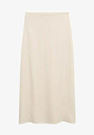 MATILDE-A - Pleated skirt - cremeweiß