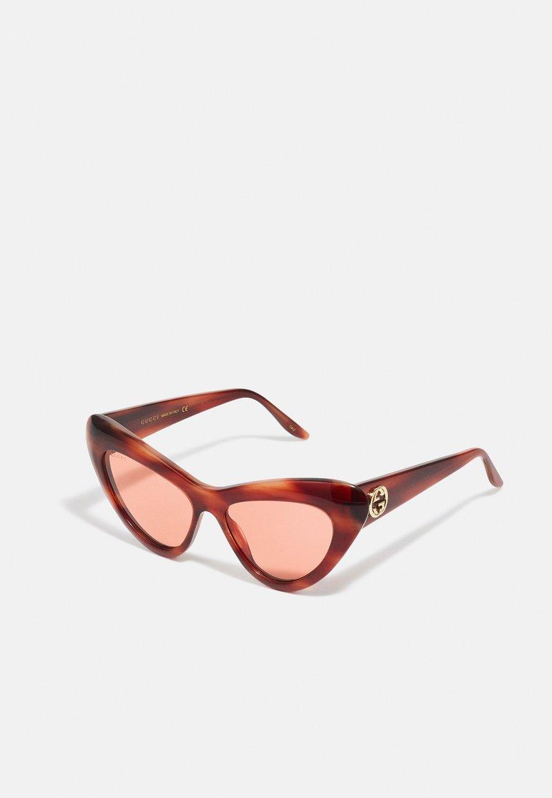 Gucci - Sunglasses - havana/orange