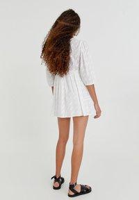 PULL&BEAR - Day dress - white - 5