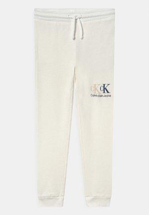 TRACK - Teplákové kalhoty - off-white