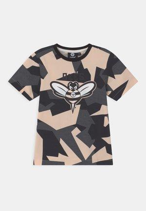 RIMSHOT UNISEX - Print T-shirt - black