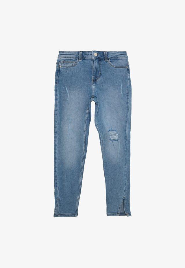 KAMELIA SLIT PETIT - Jeans Skinny Fit - light blue denim