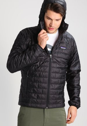 NANO PUFF HOODY - Winter jacket - black
