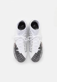 Nike Performance - MERCURIAL 7 ACADEMY MDS FG/MG - Moulded stud football boots - white/black - 3